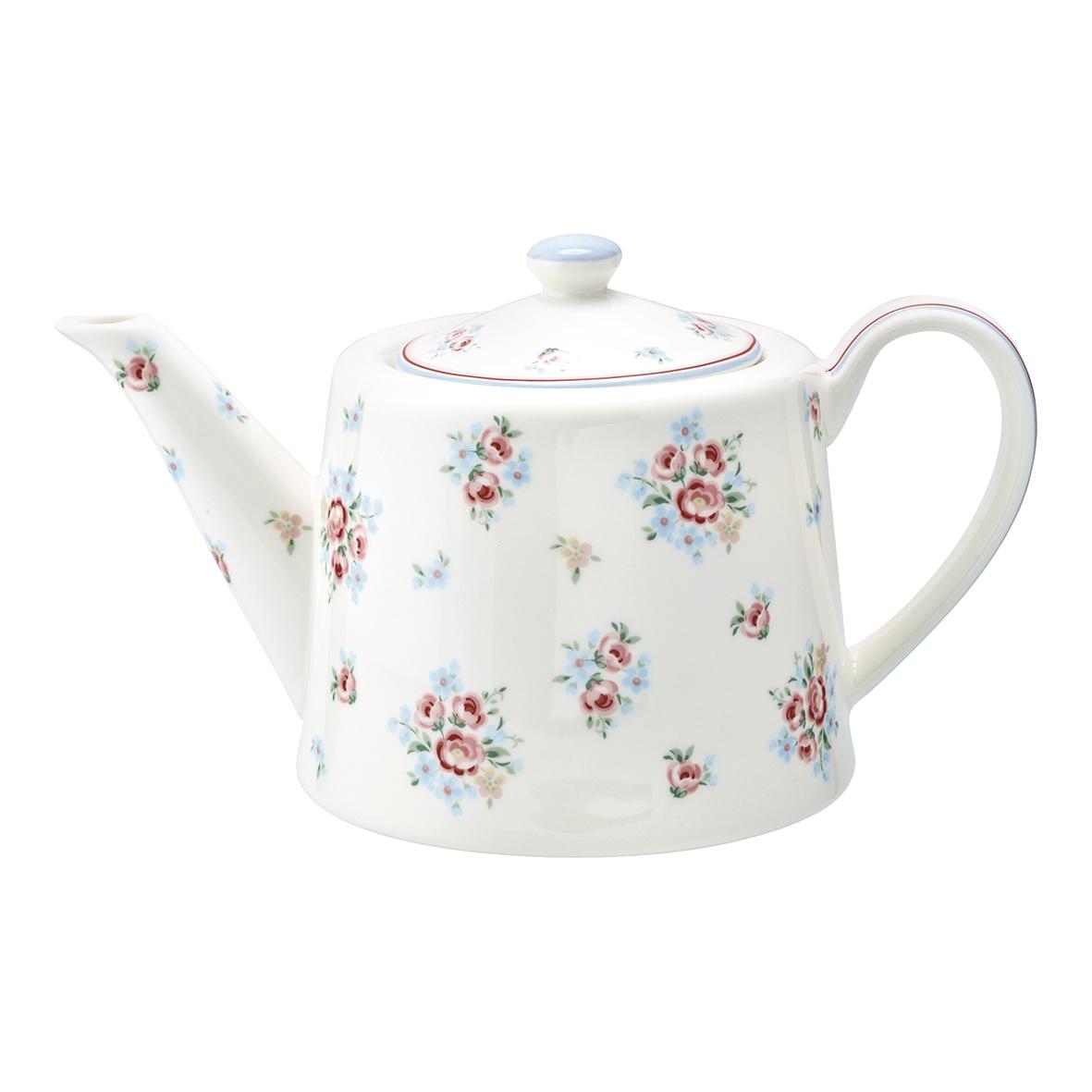 Greengate Teekanne oder Kaffeekanne Nicoline white