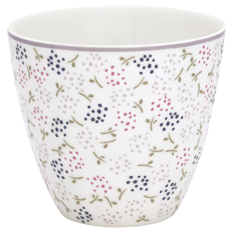 Greengate Lattecup Ginny white