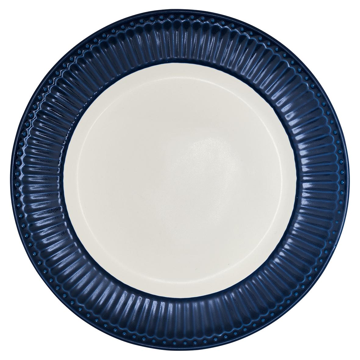 Greengate Frühstücksteller Alice dark blue Everyday