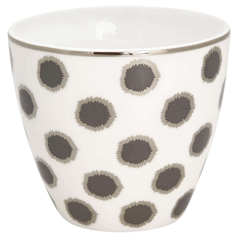 Greengate Lattecup Savannah white