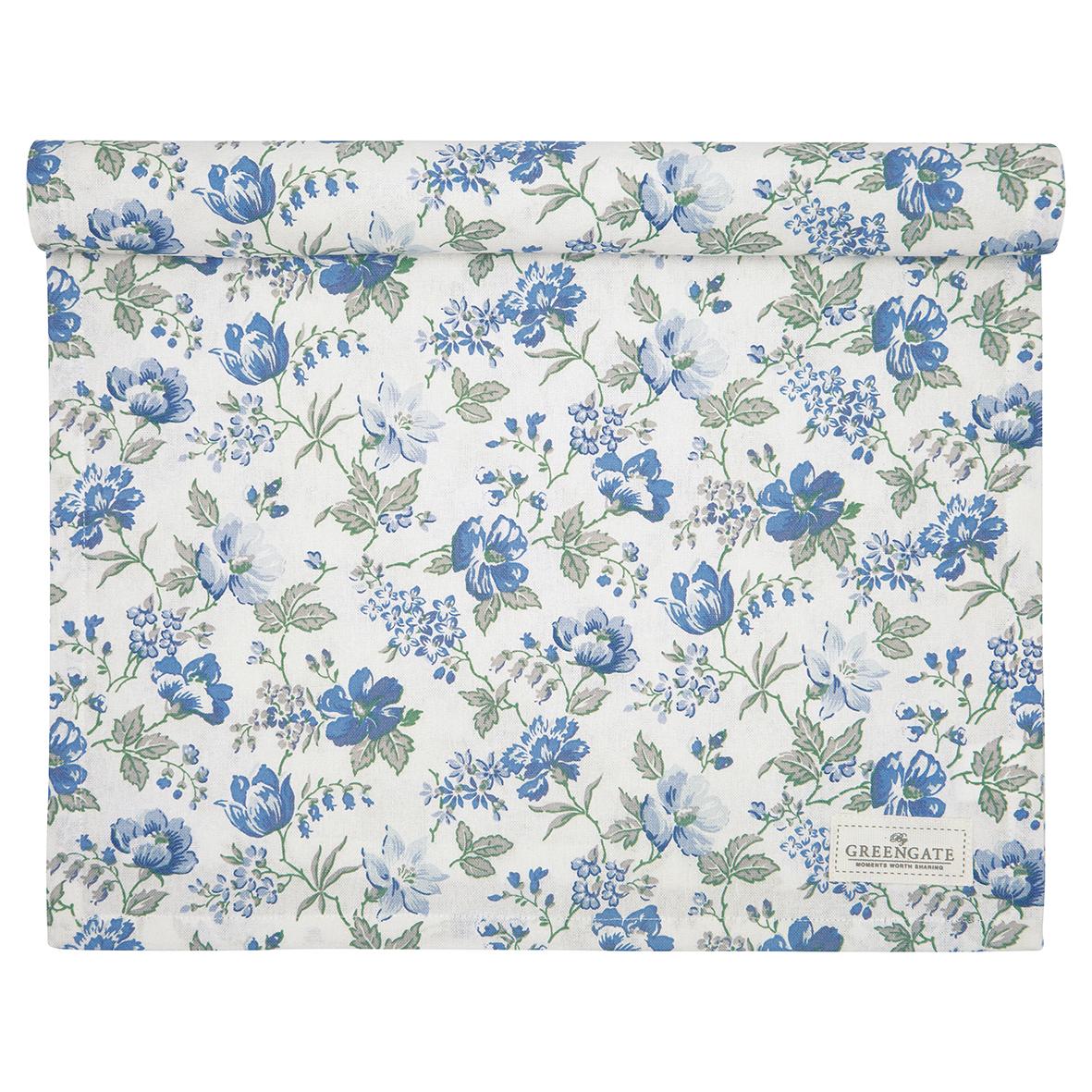 Greengate Tischläufer Donna blue