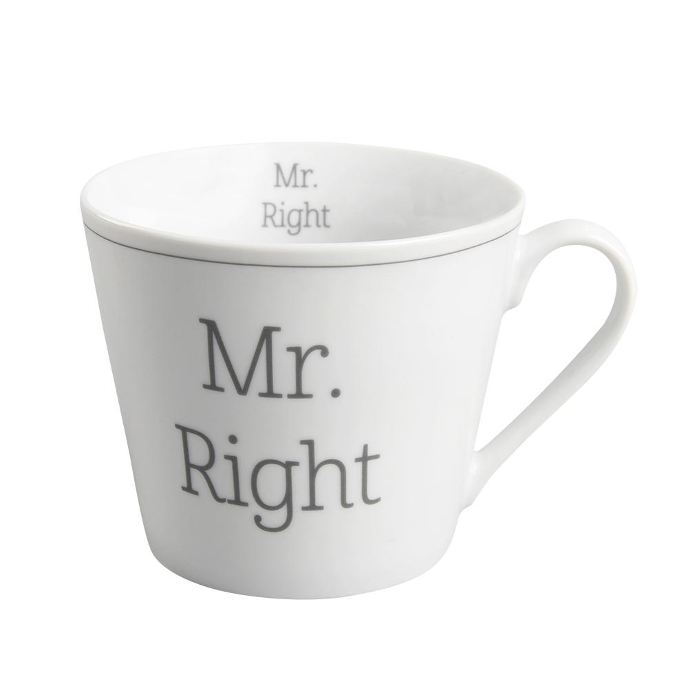 "Krasilnikoff Happy Becher ""Mr. Right"""