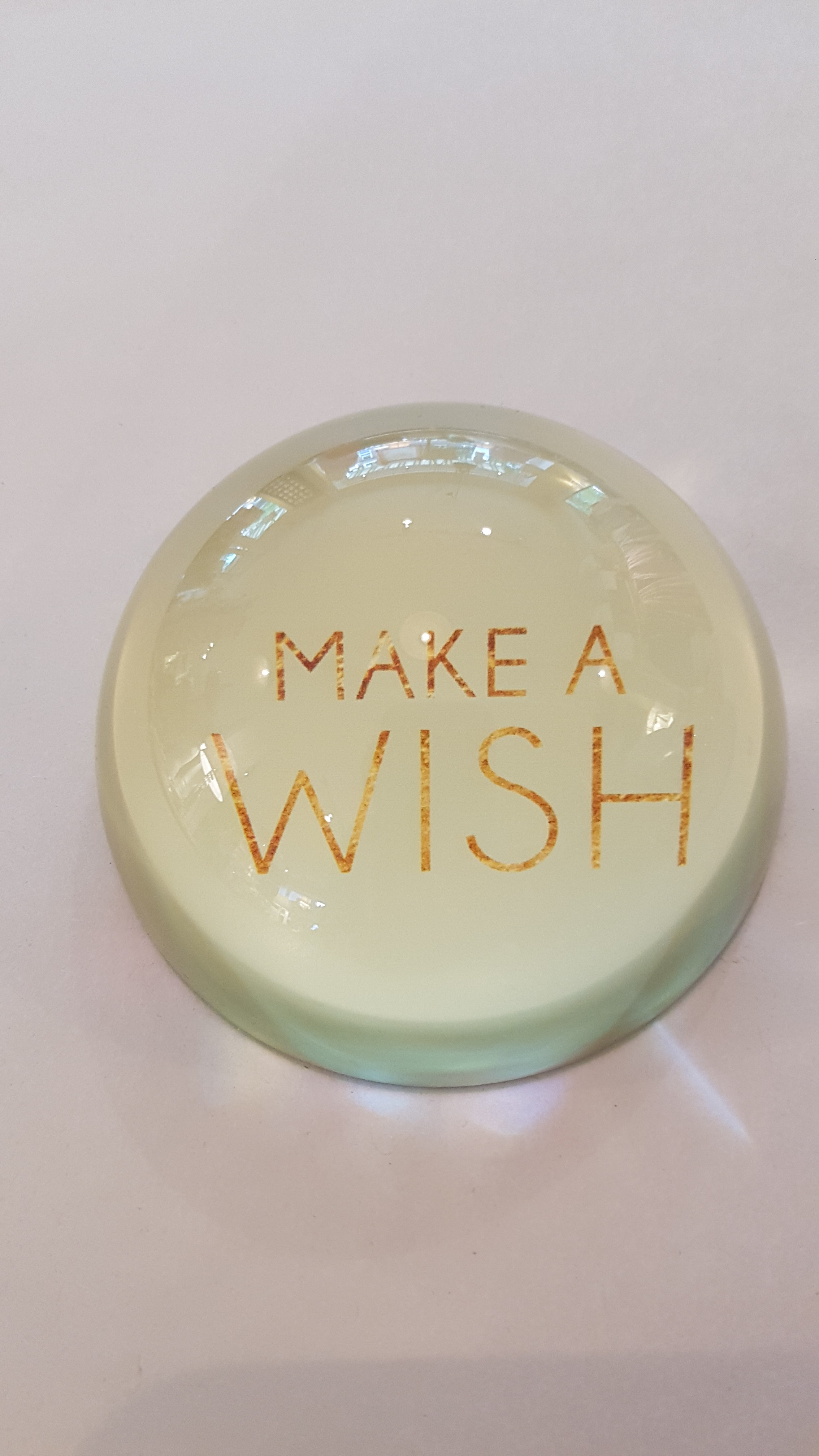 """Home Society Briefbeschwerer """"Make a wish"""""""