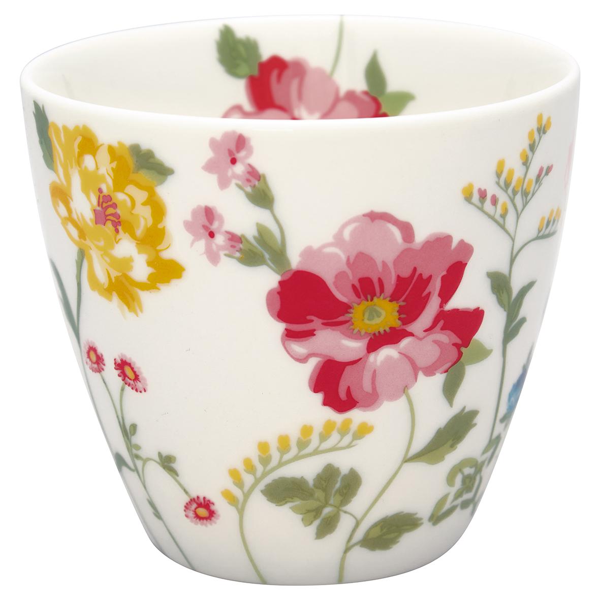 Greengate Lattecup Thilde white