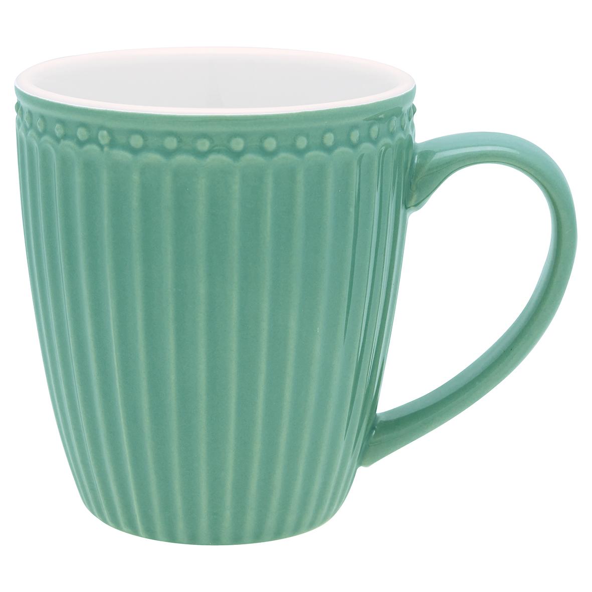 Greengate Mug Alice dusty green Everyday Kollektion Becher