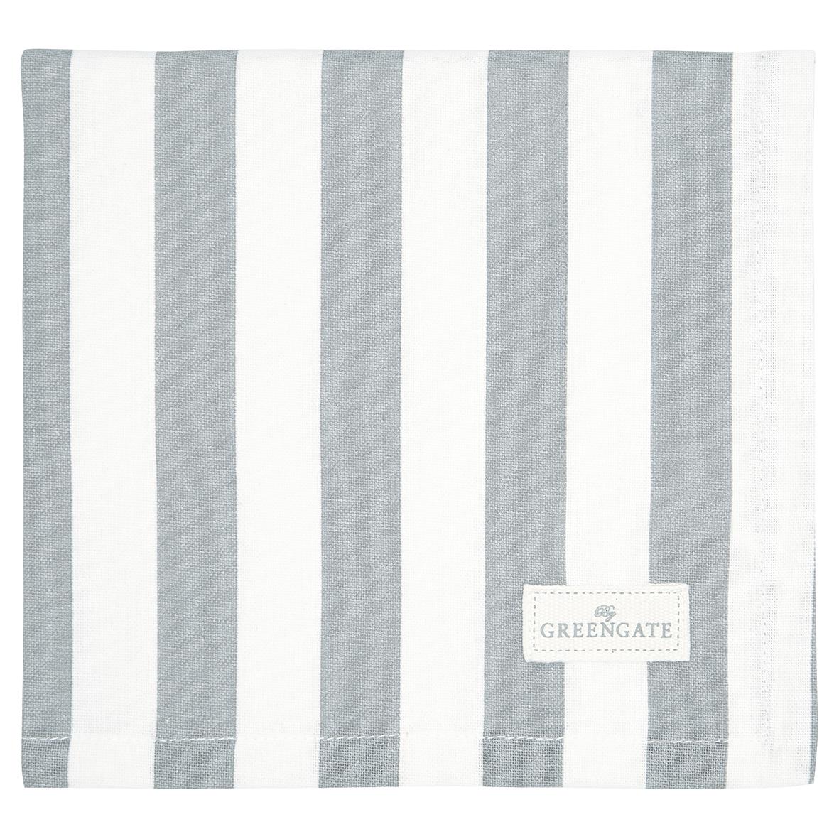 Greengate Stoffserviette Rigmor grey