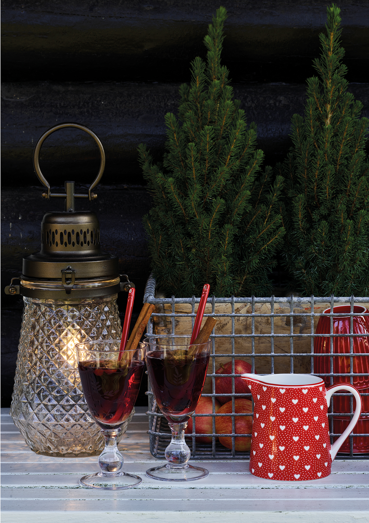 Greengate Lattecup Penny red