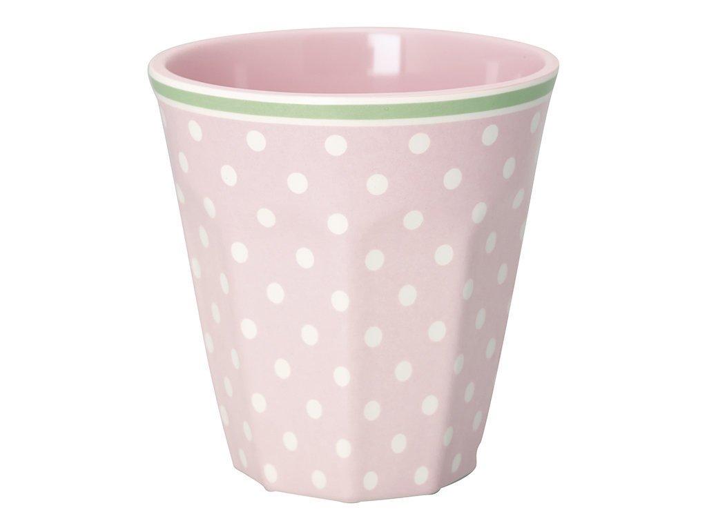 Greengate Melamin Becher Spot pale pink