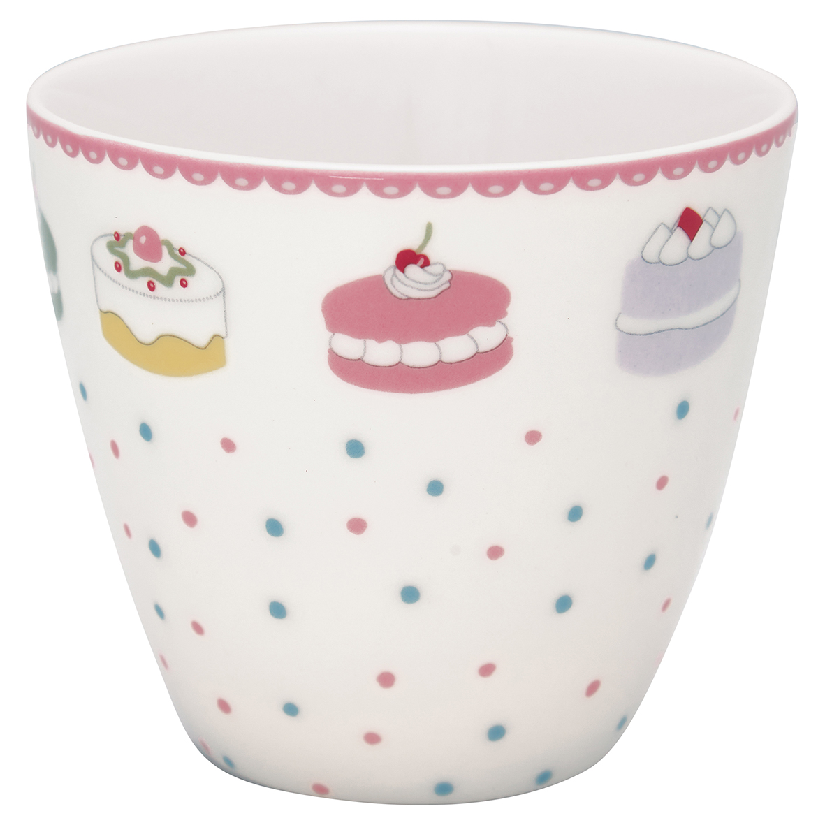 Greengate Lattecup Madelyn white