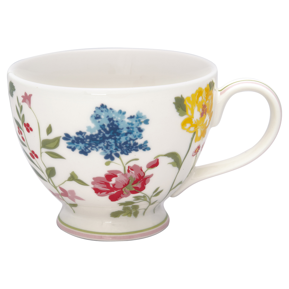 Greengate Teacup Thilde white Becher