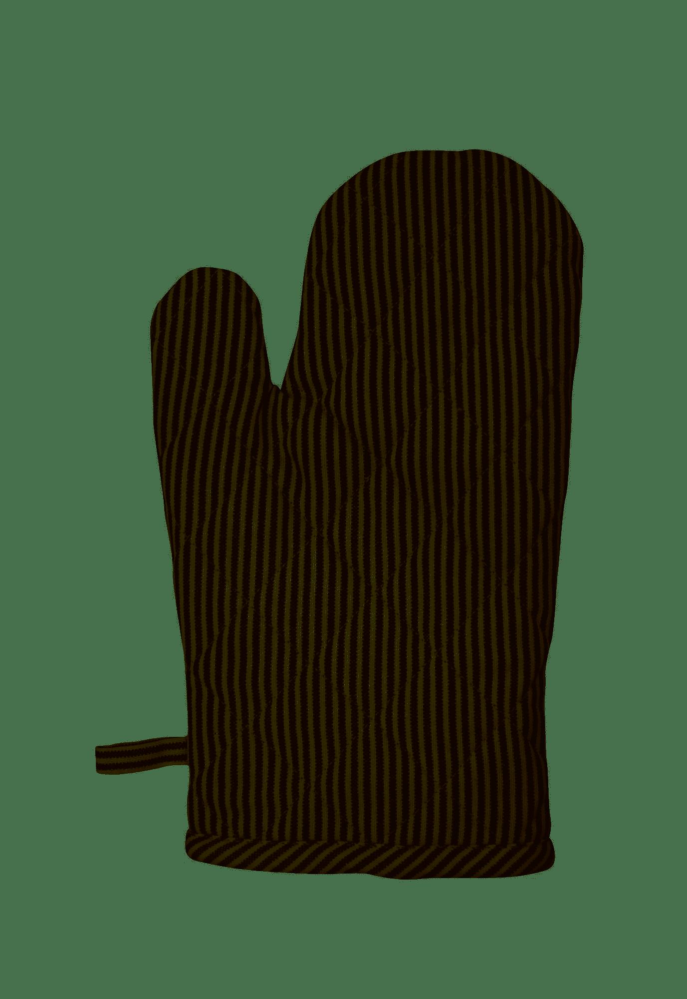 Krasilnikoff Ofenhandschuh Pinstripe 1 Stück