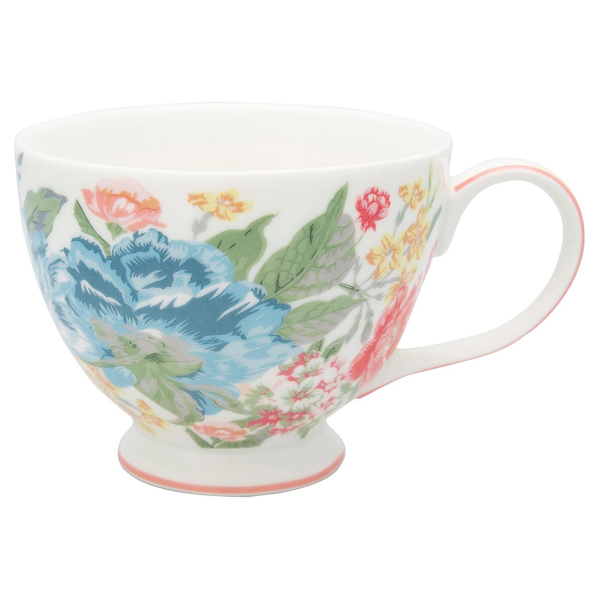 "Greengate Teacup ""Adele white"""