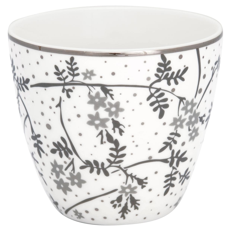 Greengate Lattecup Amira white