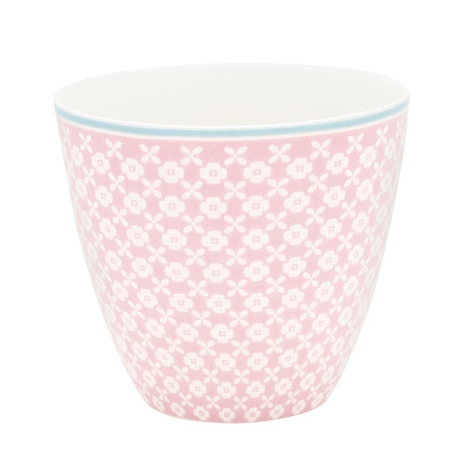 Greengate Lattecup Helle pale pink Becher ohne Henkel