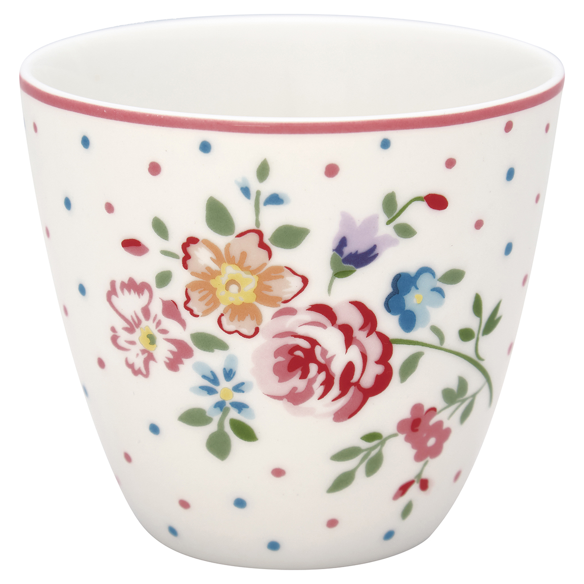 Greengate Lattecup Belle white