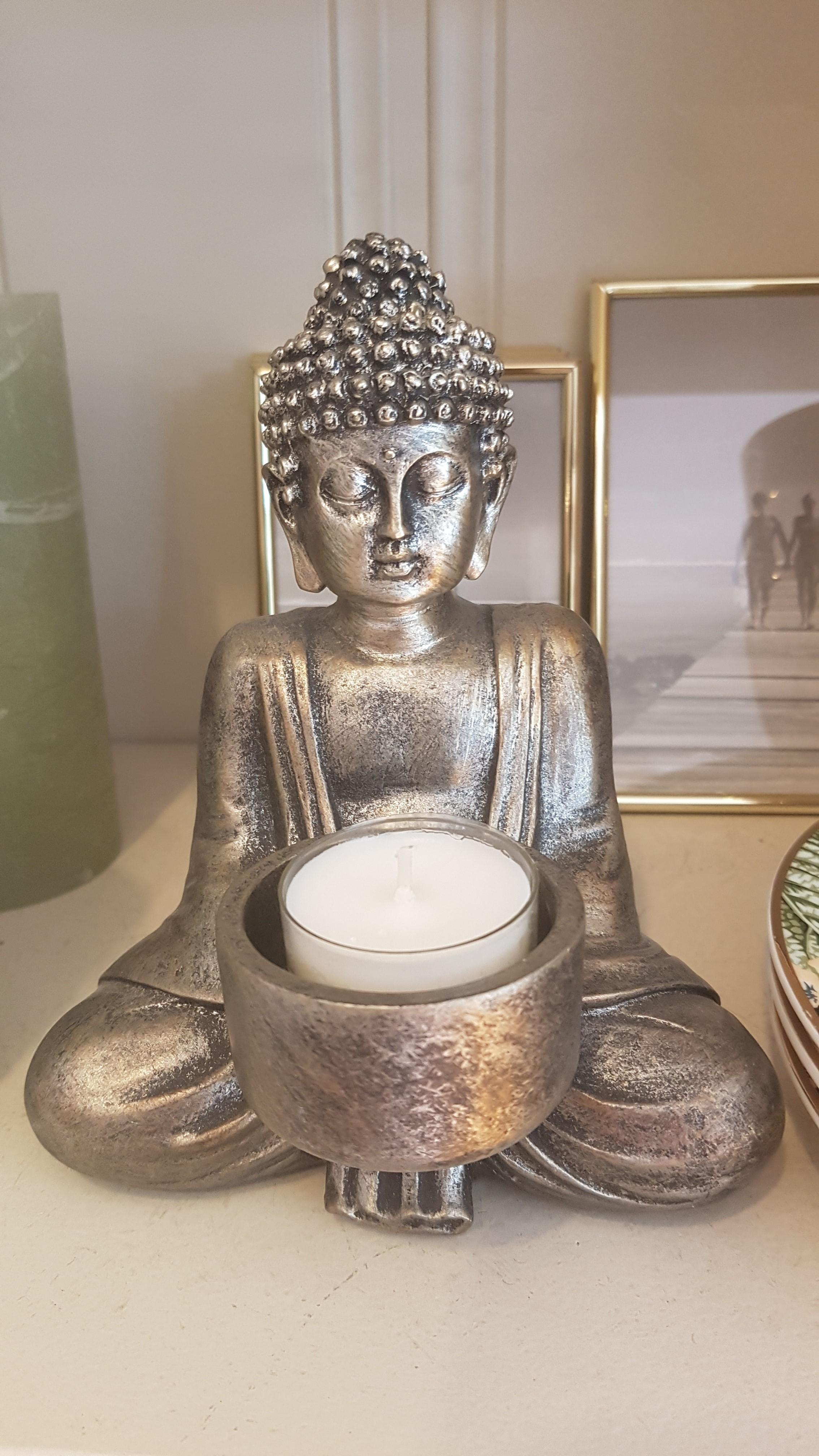 La Vida Buddha Teelichthalter