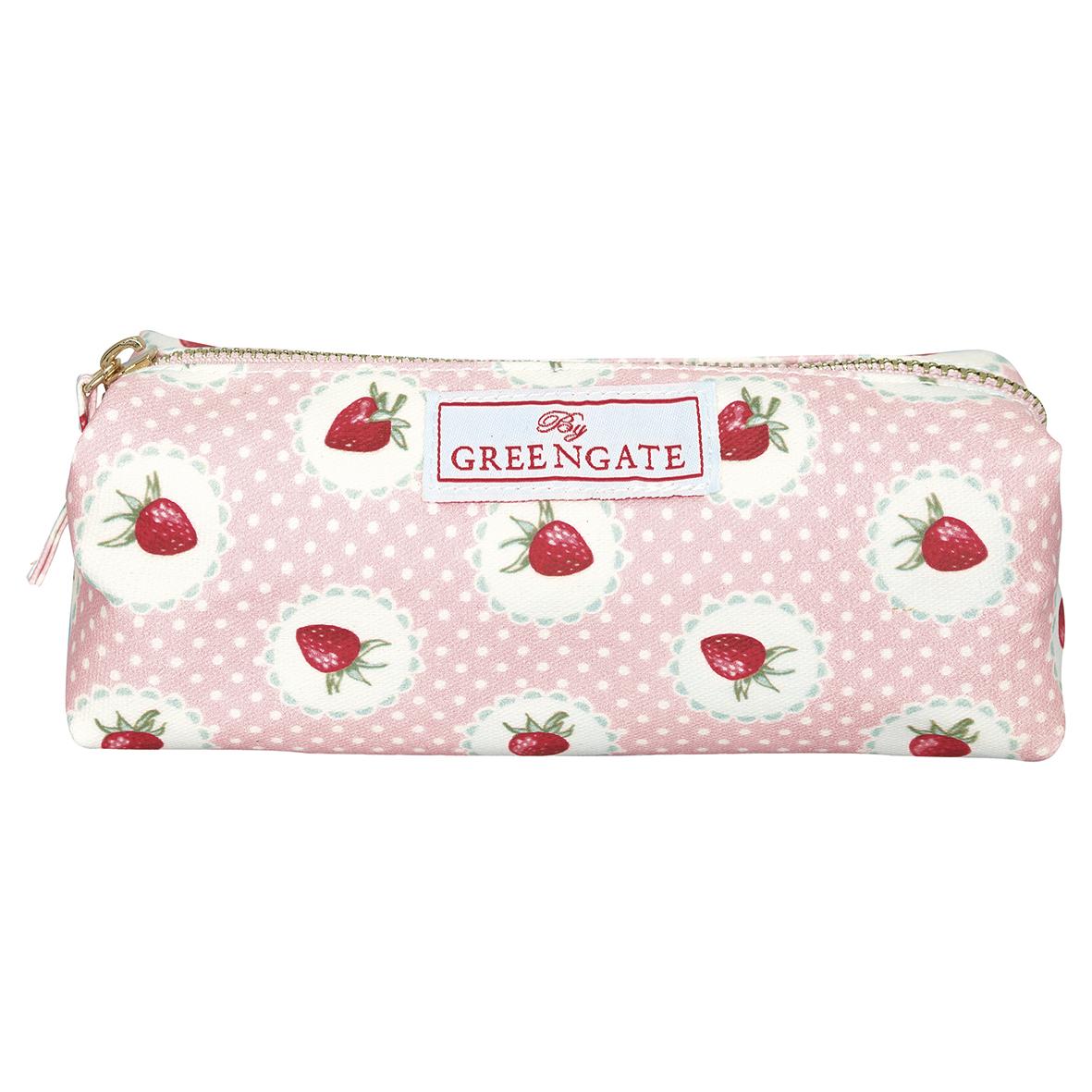 Greengate Kosmetiktäschchen/Cosmetik pouch  Strawberry pale pink