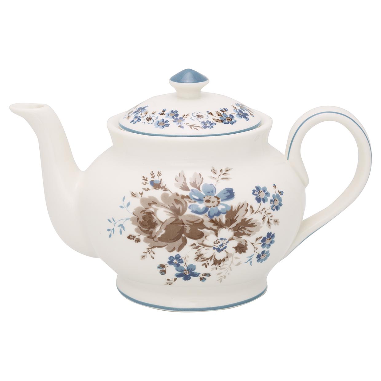 Greengate Tee/Kaffeekanne Marie beige rund Limitierte Kollektion