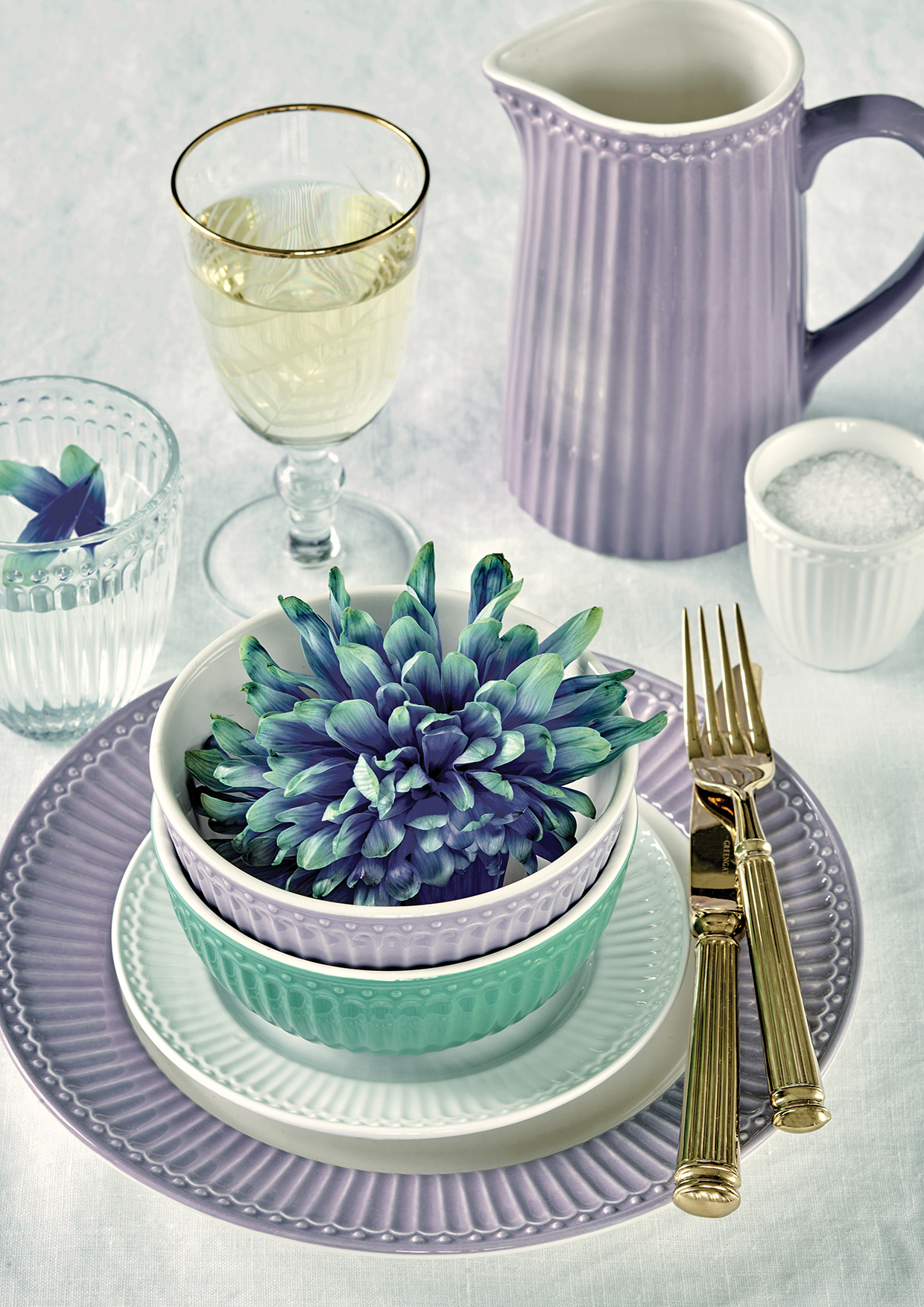 Greengate Lattecup Alice lavender Everyday Kollektion