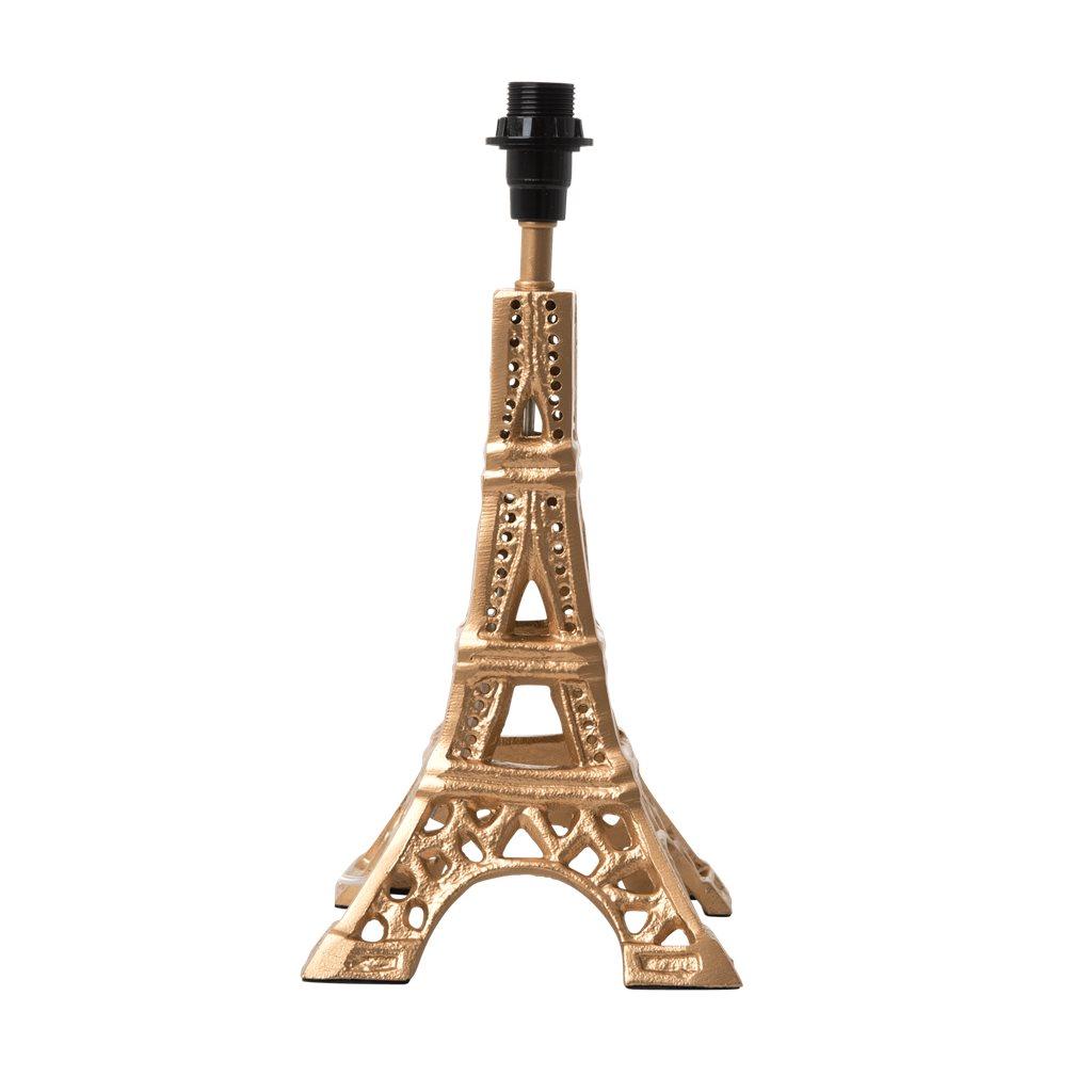 RICE Lampenfuß Eiffelturm gold