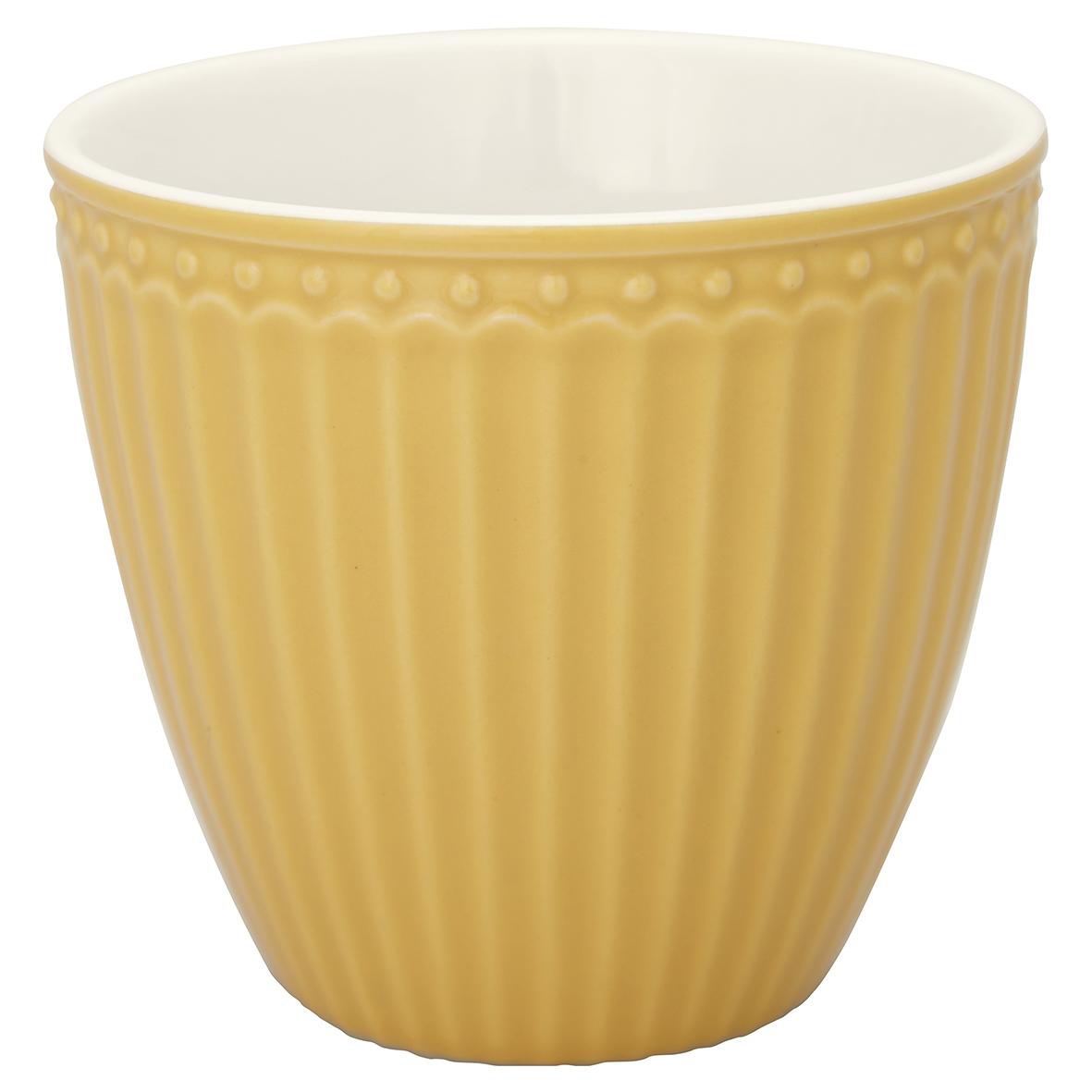 Greengate Lattecup Alice Honey mustard Everyday Kollektion