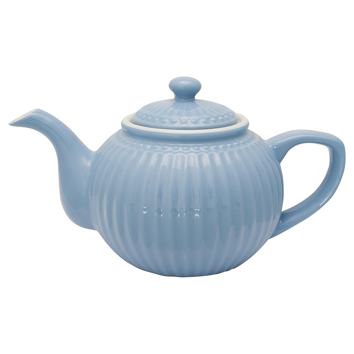 Greengate Tee/Kaffeekanne Alice sky blue Everyday