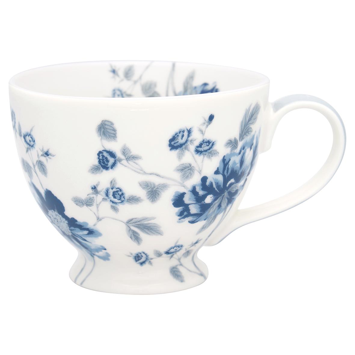 Greengate Teacup Charlotte white