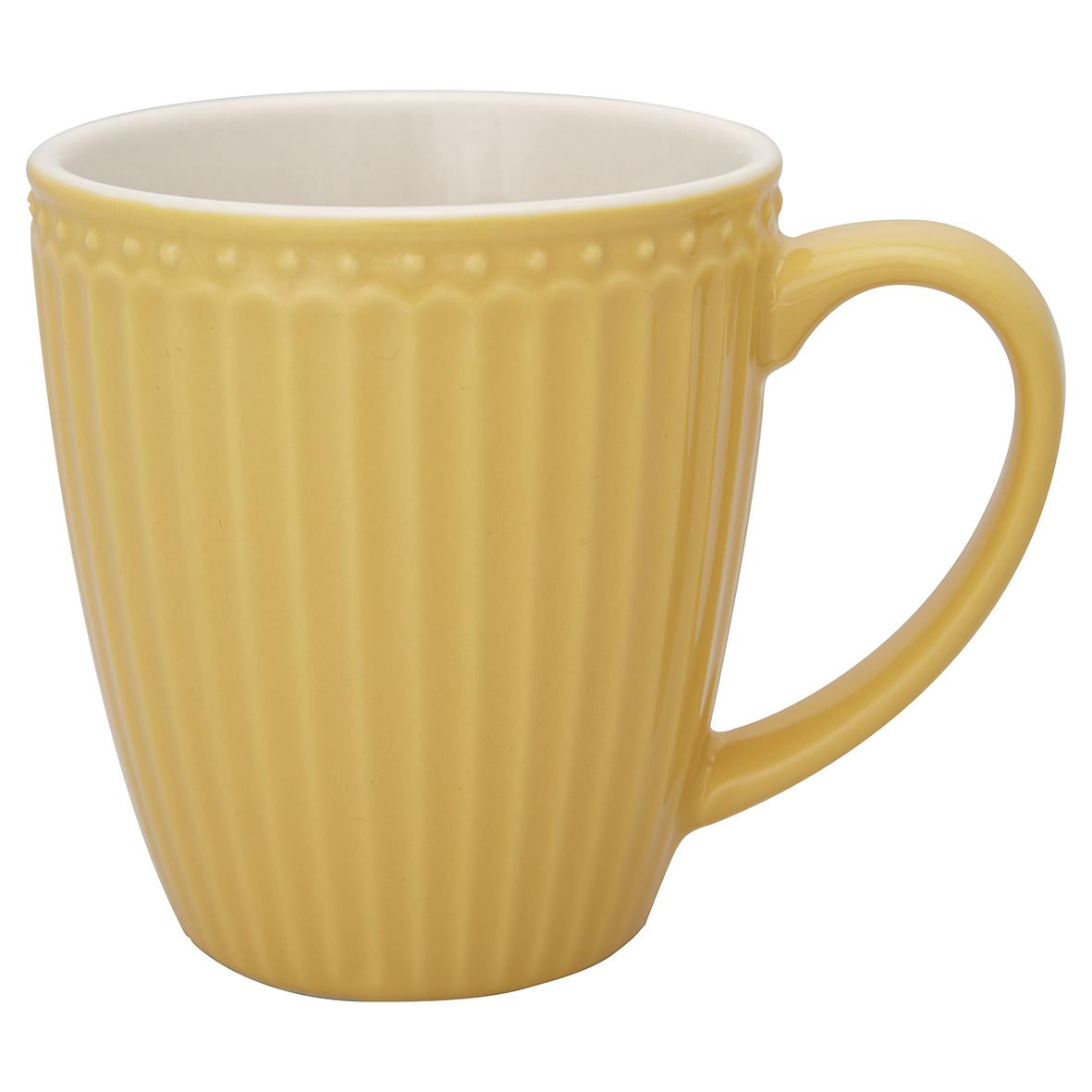 Greengate Becher Alice honey mustard Everyday Kollektion