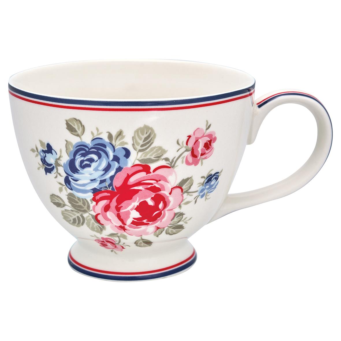 Greengate Teacup Hailey white Becher