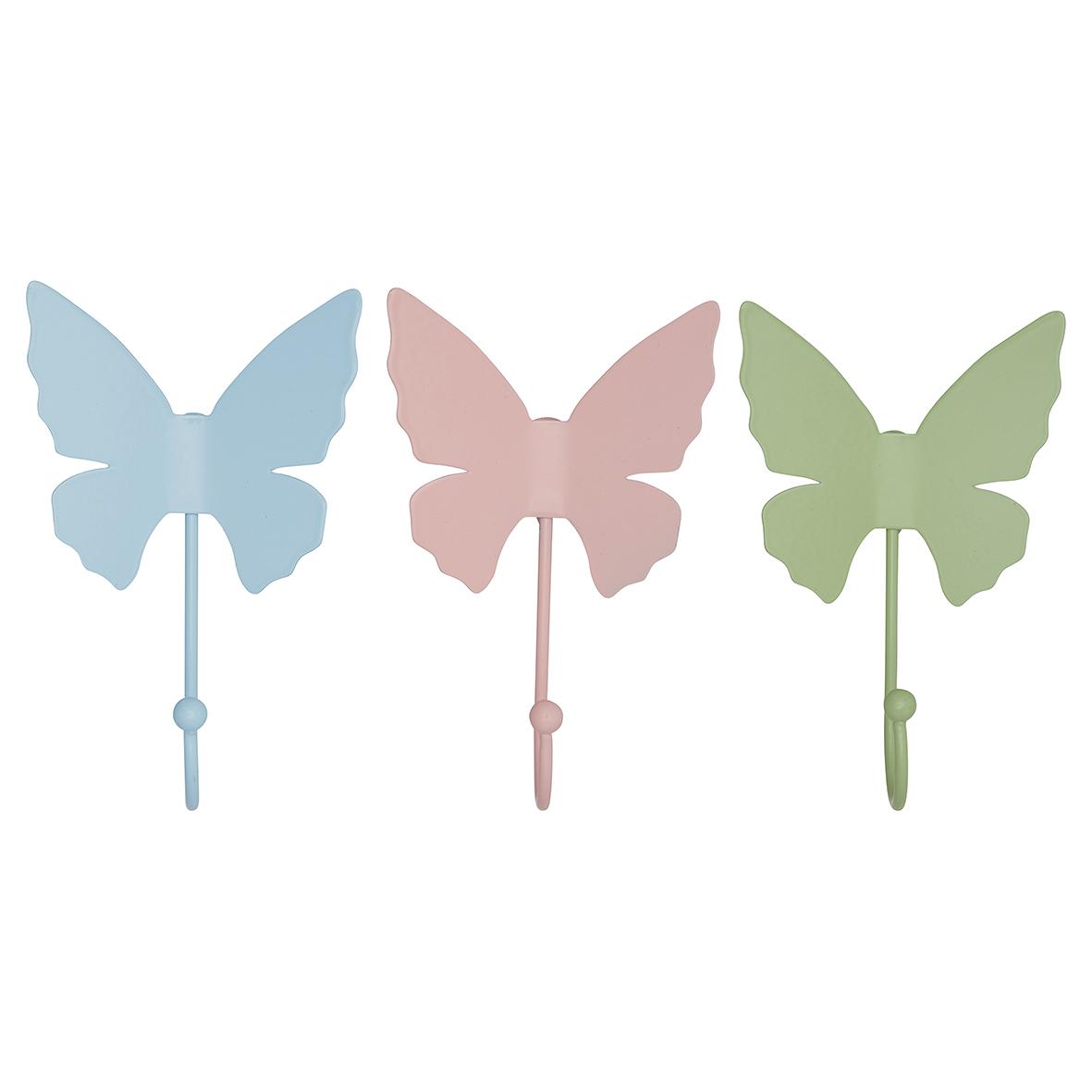 Greengate Haken Schmetterling metall